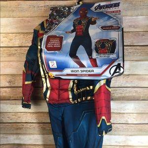 Child Avengers Costume Iron Spider